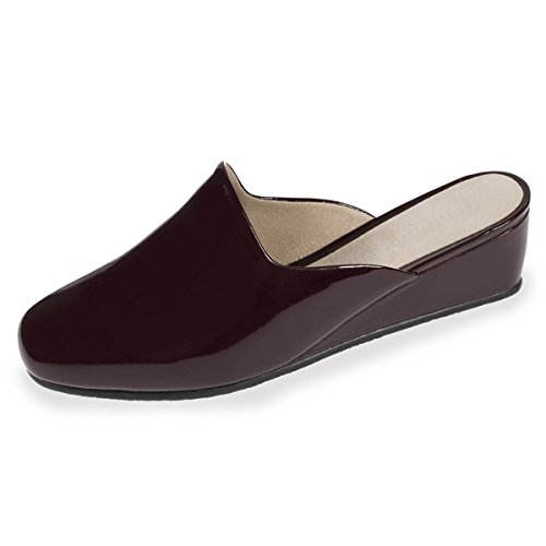 Isotoner, Pantofole donna Bordeaux