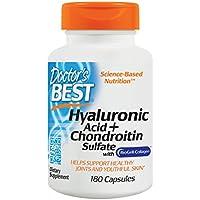 Doctor's Best | Hyaluronsäure mit Chondroitinsulfat und BioCell Kollagen | 180 Kapseln | glutenfrei