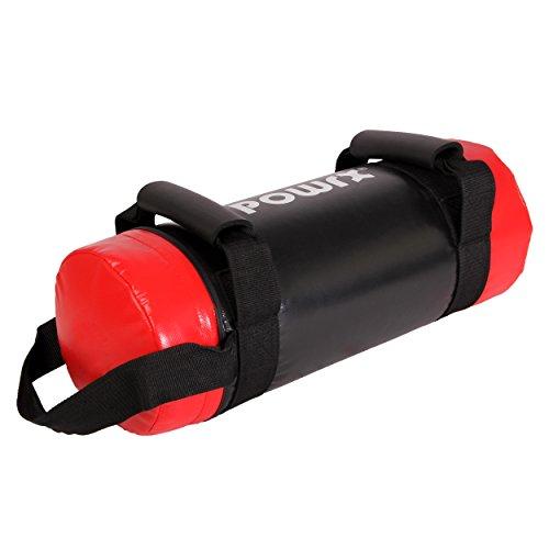 Sandbag 5 - 30 kg - Ideal para ejercicios de FUNCTIONAL FITNESS y potenciamiento muscular (20 kg - Rojo/Negro)