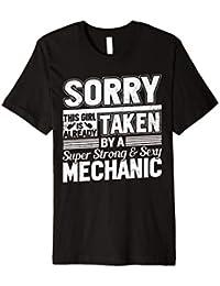 Sorry This Girl Is Already Taken von ein Mechaniker T-Shirt Frau