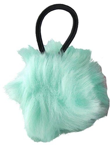 Jessidress Haar Gummis Pompom Haargummis Haarband Schleife Haarblumen Haar blume Grün