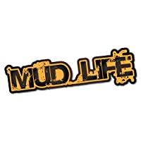 Mud Life 4x4 4WD Offroad Sticker Decal 4x4 4WD Funny Ute