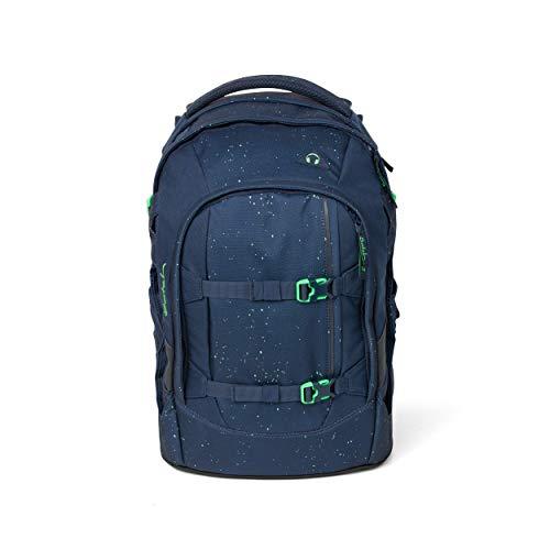 Satch Pack Space Race Rucksack Freizeit und Sportwear Unisex Kinder Kinder Blue Green Speckled (Grün), Einheitsgröße