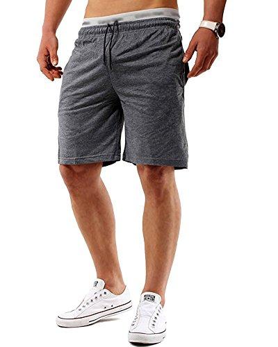 Minetom Verano Hombre Bermuda Casual Cintura Elástica Bolsillos Pantalones Cortos Deportivos Shorts...