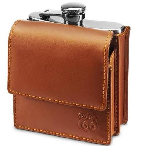 original-hip-flask-018-litres-with-bonded-leather-case-with-belt-loop-by-notrash2003