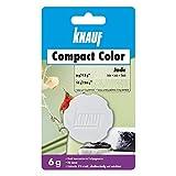 Knauf Compact Colors Farb-Pigmente – Pigment-Pulver zum Einfärben von Putz, nicht staubend, hoch konzentriert und wischfest, Jade, 6-g