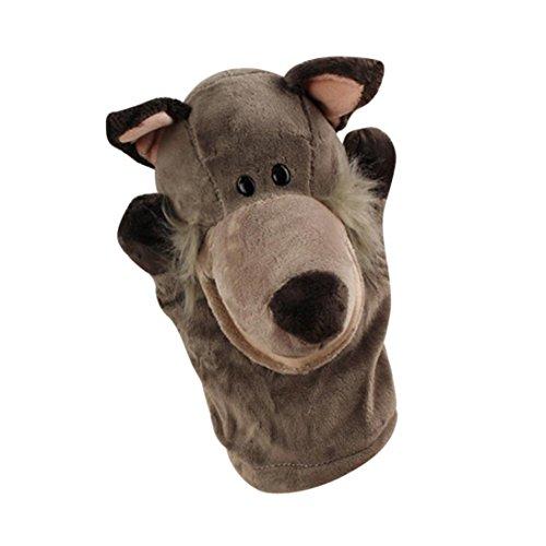Niedlichen Cartoon Tier Puppe Kinder Handschuh Fingerpuppen Handpuppe Weichem Plüsch Spielzeug Geschichtenerzählen (B) (Handpuppe Schnecke)