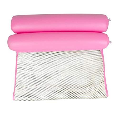 yongfei Sommer Wasser Hängematte Faltbare Einzigen Menschen Bett Aufblasbare Luft Matratze Schwimmen Pool Strand Liege Schwimm Schlafen Kissen-in Luftmatratzen aus Sport und Unterhaltung Type A Pink