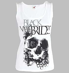 Black Veil Brides - Girl-Tank Vest Skullogram (in L)