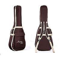 ParaCity Folk acústica Guitarra Gig Bag Funda sintética acolchada resistente al agua para 394041pulgadas, Style E