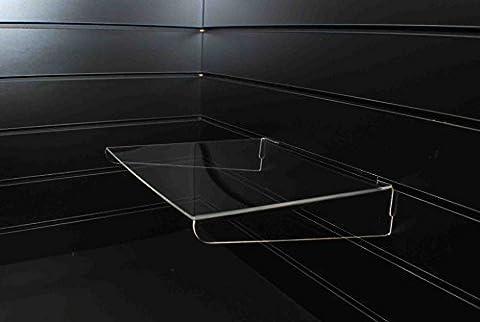 Slatwall Unterstützte Böden, 300 x 300 mm, Ladengeschäft Display