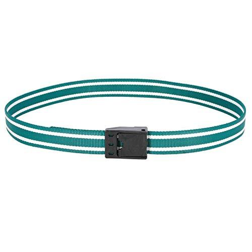 Kerbl Halsmarkierungsband m. Klemm- verschluß, grün-weiß, 130cm -