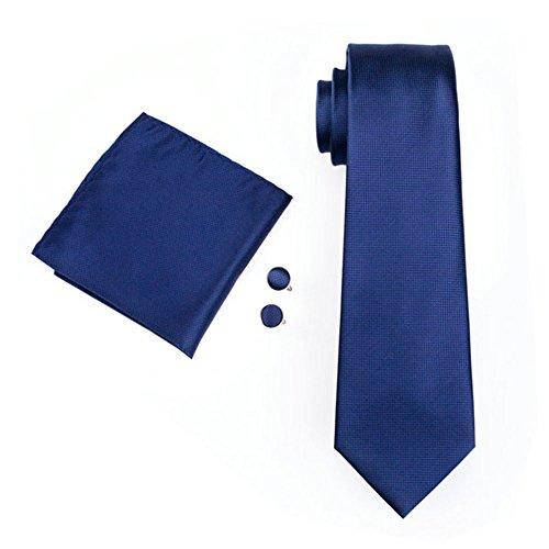 mens-formal-paisley-striped-floral-100-silk-woven-neck-tie-pocket-square-hanky-cufflink-set-plain-na