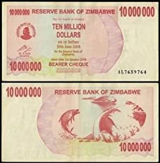 TEN MILLION DOLLARS OF ZIMBABWE-ONLY FOR COLLECTION