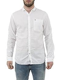 chemise Hilfiger Denim dm0dm01844 blanc