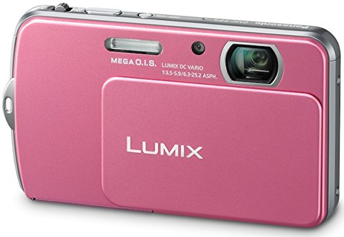 PANASONIC LUMIX DMC-FP7 PINK DIGITAL CAMERA TOUCH LCD