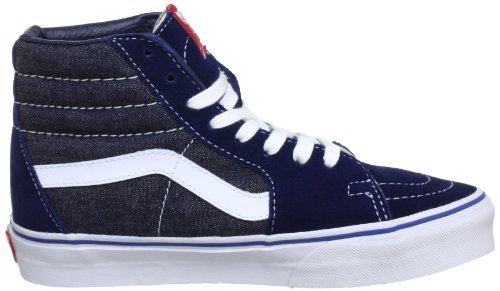 Vans U Sk8 Hi - Baskets Mode Mixte Adulte Bleu (Suede/Denim B)