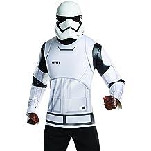 Rubie 's 810840oficial de Star Wars Stormtrooper camiseta y máscara adulto disfraz (X-Large)