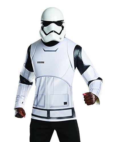 (Rubie 's Offizielles Star Wars Sturmtruppen Shirt und Maske, Erwachsenen-Kostüm, Größe XL)