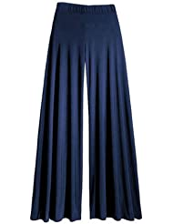 Pantalons evasés de style palazzo.