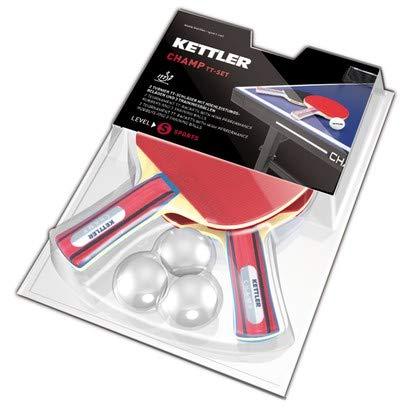 Kettler Zubehör Set 2 Schläger Match, Erwachsene, Unisex, Mehrfarbig, Einheitsgröße