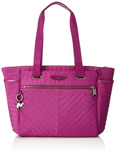 Kipling - Orinthia, Bolsos totes Mujer, Pink (Wild Pink), 43x27x0.1 cm (B x H T)