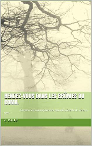 """Couverture du livre Rendez-vous dans les brûmes du coma.: """"Comment j'ai communiqué avec mon ami pris entre la vie et la mort"""""""