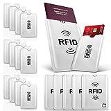PAMIYO Protecteur de Carte Porte-Monnaie Anti RFID Anti FRAUDE Etui Carte Bancaire...