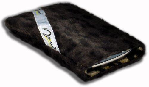 Norrun Handytasche / Handyhülle # Modell Leorna # ersetzt die Handy-Tasche von Hersteller / Modell Samsung SGH-i600 # maßgeschneidert # mit einseitig eingenähtem Strahlenschutz gegen Elektro-Smog # Mikrofasereinlage # Made in Germany