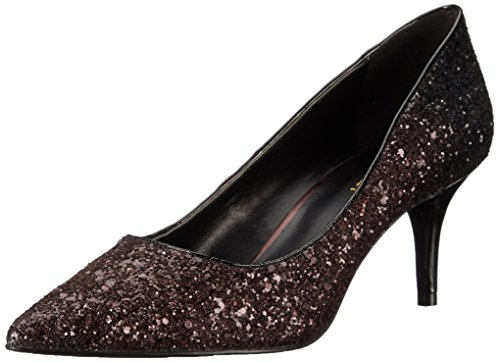 Nine West Margot pompa Dress sintetico Dark Red/Black