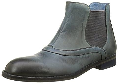 Fly London Damen ESHE007FLY Chelsea Boots, Blau (Indigo 004), 39 EU