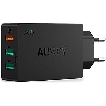 Anker 24W 2-Port USB Ladegerät mit PowerIQ: Amazon.de