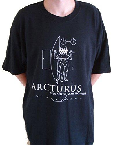 Maglietta Arcturus-Telespalla Sinfonie Black XL
