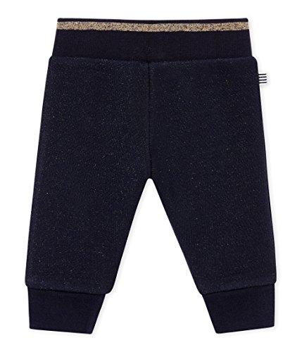 Petite Hose (Petit Bateau Baby-Mädchen Pantalon Maille_4435503 Hose, Mehrfarbig (Smoking/Dore 03), 92 (Herstellergröße: 24M/86cm))