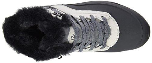 Merrell Aurora 6 Ice+ Waterproof, Chaussures de Randonnée Hautes Femme Gris (Flash)