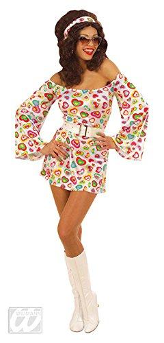 Mode Kostüm Siebziger Jahre - Disco Queen Kostüm L
