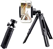 Fancer Tripod for iPhone and Android, Camera & Stabilizer Stand Holder, 360°Rotation Mini Tripod Phone Sta