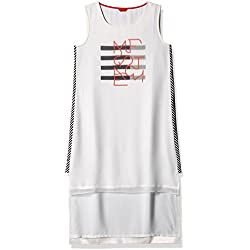 W for Woman Women's Tunic Top (16AU32445-57821_White_12)