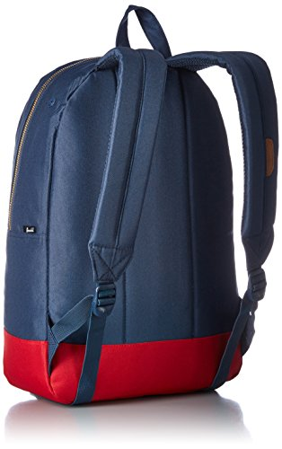 herschel Settlement Backpack black Navy/Rot