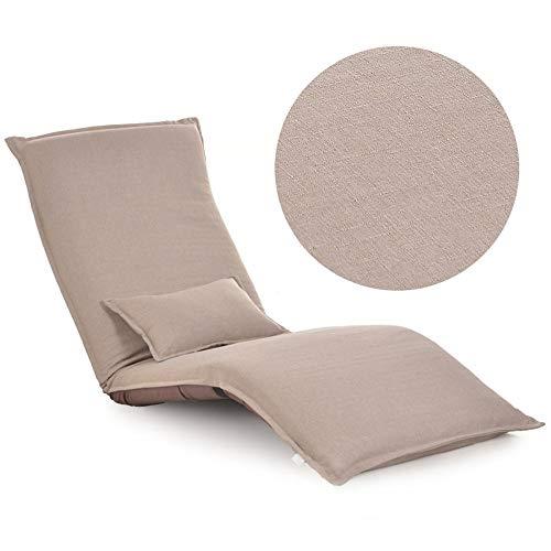 Sofás Brisk - Lazy Lounge Chair Sillón Cama Plegable Creativity Individual Balcony...