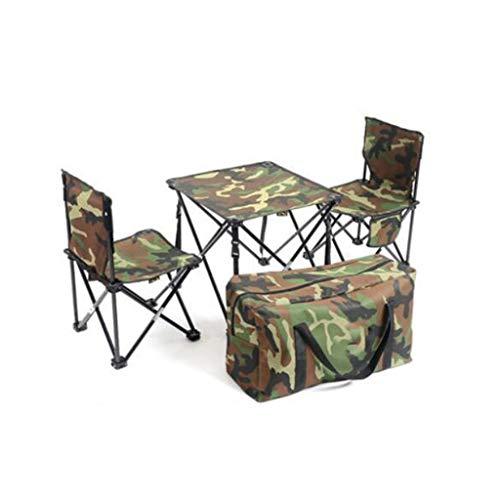 LSS Table Pliante Et Ensemble De Chaises, Ensemble De Chaises D'extérieur, Siège De Camping Pour Voiture Auto-conduite (taille : No.1)