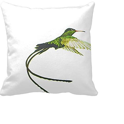 pourcentage Jamaica Doctor Bird Home Decor Taie d'oreiller 18en Housses de coussin carré