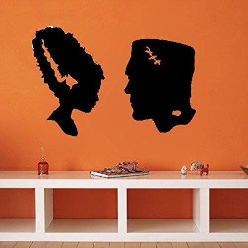Kreative Decals Braut von Frankenstein, Vinyl, Auburn, 16x22