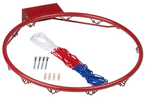Basketballring mit Netz ca. 45 cm Basketballkorb Basketball