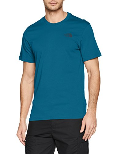 The North Face Herren S/S Simple Dome Tee T-Shirt, Blue (Coral), S Preisvergleich