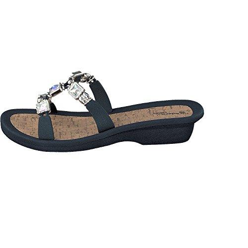 LINEA SCARPA MESTRE Ciabatte da Spiaggia Muli e scarpe casual Donna Blu