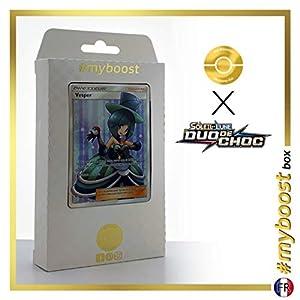 Vesper (Vésper) 175/181 Entrenadore Full Art - #myboost X Soleil & Lune 9 Duo de Choc - Box de 10 Cartas Pokémon Francés