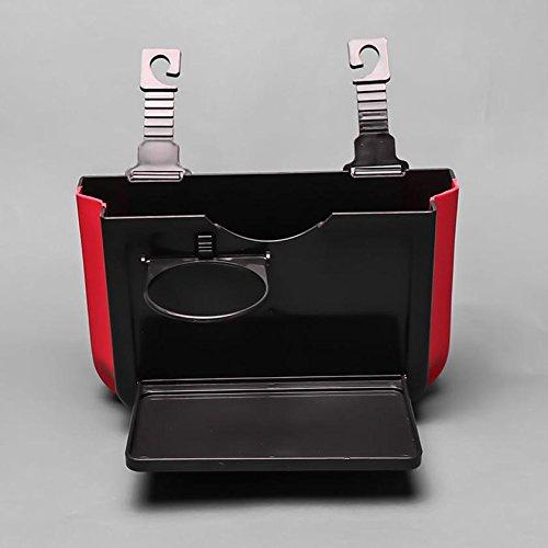 Multi–funktional Fashion kann Auto Teleskop Aufbewahrungsbox–montiert Auto Papierkorb Dosen, schwarz, black trash (Tragbare Doppel-brenner)