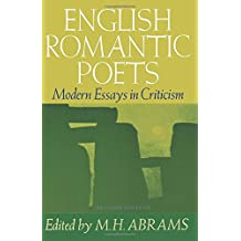 English Romantic Poets: Modern Essays in Criticism (Galaxy Books)