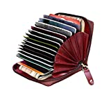 ABYS Genuine Leather Bombay Brown Men Wallet||ATM Card Case||Money Purse||Card Holder with Zip